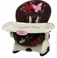 brown and white floral car seat with feeding tray Ashton-Sandy Spring, 20861