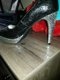 Rampage blk and Silver Sequin heel size 9 new St. Cloud, 56304