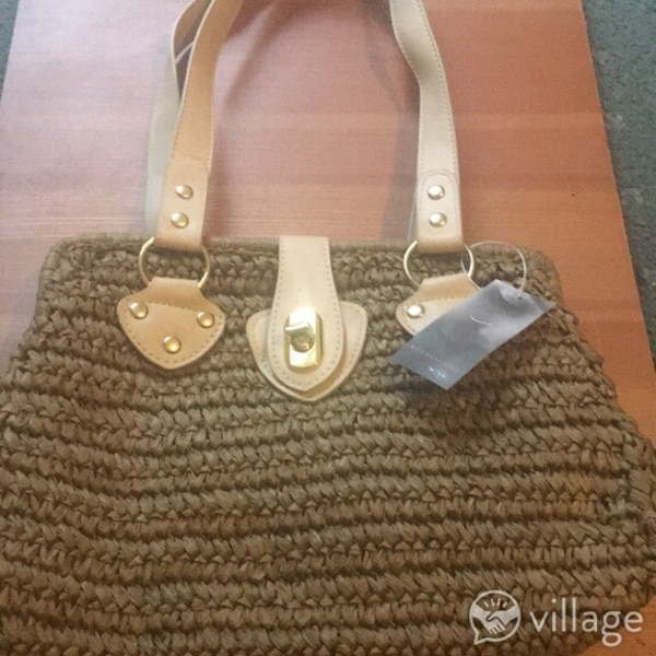 f273f98c3 Used brown knitted tote bag for sale in Leicester - letgo