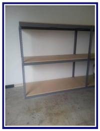 Shelving 72 in W x 30 D Boltless Industrial Garage Box Storage Racking Los Angeles
