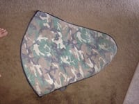 Brown white green camouflage bow and crossbow carrier