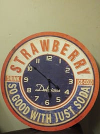 Brand new Large size wall clock Vancouver, V5Y 3V5