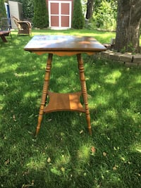 Antique wooden square brown table Kingston, K7M