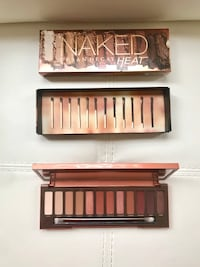 Urban decay- naked HEAT eyeshadow palette 3 km