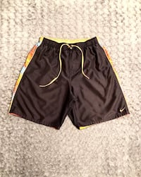 Men's Nike logo trunks paid $64 size L Like new! Only worn once