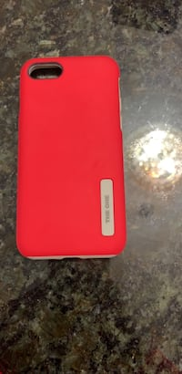 Red and gray hard shell iPhone case (iPhone 6/6s/7) Markham, L6E 1G4