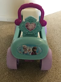 Disney push car for kids Herndon, 20171