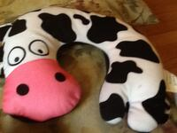 white and black Cow neck pillow Vienna, 22182