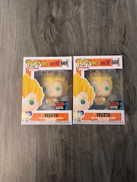 Exclusive vegeta funko pop Toronto, M2N 5X2