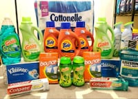 four Gain detergent bottles and packs Gaithersburg, 20877