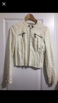 Guess leather jacket  Brampton, L6P 3R2