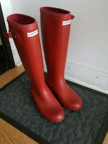 Authentic woman's Hunter boots