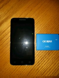 black Alcatel Android smartphone with box Edmonton, T5Y 0E7