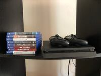 Playstation 4 w/ controllers and games!