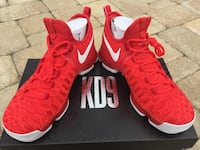 Size 9 - KD 9 Varsity Red Dead Stock Huber Heights, 45424