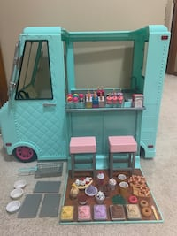 """Our Generation Sweet Stop Ice Cream Truck Toy American Girl18"""" Dolls Greensburg, 15601"""