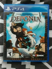 Sony PS4 game deponia Jersey City, 07307