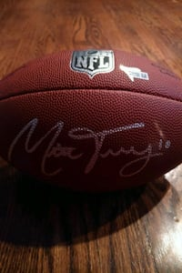 Mitch Trubisky signed football Chicago, 60610