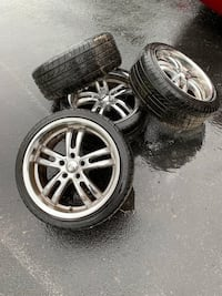Kasino Alloy Wheels and Tires Clear Brook, 22624