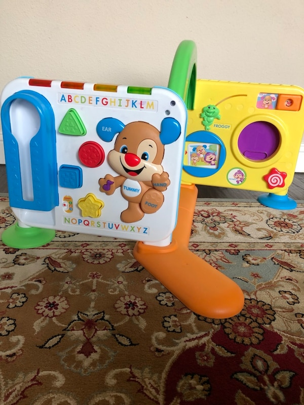 39cbfd217 Fisher price laugh and learn crawl around learning center usado en venta en  Frisco - letgo