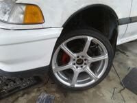 17x7 EMR RIMS AND TIRES 205/40R17  Vernon, V1T 4G6