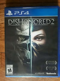 Dhishonored 2 ps4
