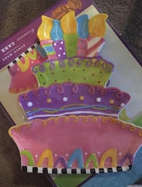 Birthday cake plate  Silver Creek, 30173