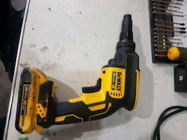 Dewalt adjustable torque screw gun