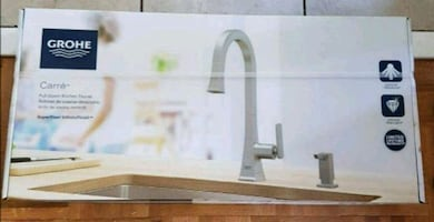 Grohe Pull-Down Kitchen Faucet