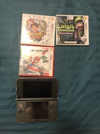 Nintendo 3ds XL new + 3 games Vaughan, L6A 4Z8