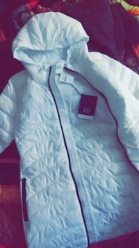 White zip-up jacket Phenix City