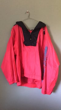 Vintage OP Ocean Pacific half-zip windbreaker Richmond, V7C 1E4