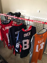 Sports jerseys for sale