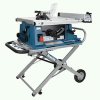 Very nice makita 2708 table saw with stand Silver Spring, 20906