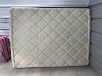 White and gray floral mattress Knightdale, 27545