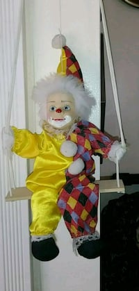 yellow and red dressed collectible clown El Paso, 79907