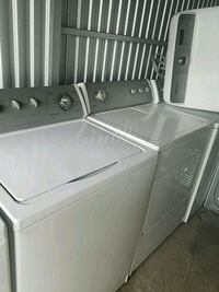 white clothes washer and dryer set Temple Hills, 20748