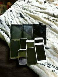 black Samsung Galaxy Android smartphone with two c Gaithersburg, 20882