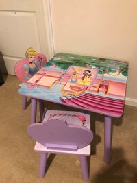 Disney Princess Table and Chairs Locust Grove, 22508