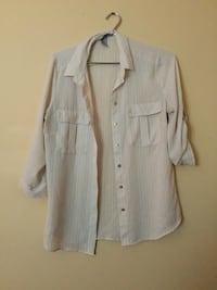 gray button-up long-sleeved shirt Surrey, V4A 1J3