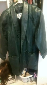 Leather trench coat Barstow, 92311