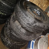 "Winter 15"" tires on steel rims Cambridge, N1R 5S6"