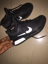 pair of black-and-white Nike running shoes Bengaluru South, 560077