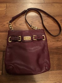 Michael Kors maroon leather crossbody Spotsylvania, 22553