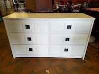 Solid wood dresser painted cream $250 plus tax  Spring Hill, 37174
