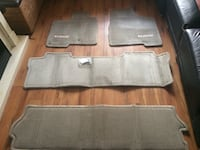 Brown and gray car mats Colwood, V9B 5E4