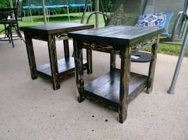Custom Made End Tables &  Side Tables