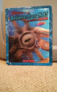 Ripley's Believe it or not! book Carson City, 89706