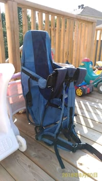 baby's blue and black stroller 712 km