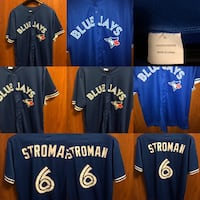 Men Extra Large Blue Jays Jersey  Toronto, M4M 2N7